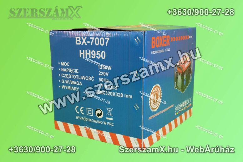 Boxer BX7007 Áramfejlesztő 1,25kW