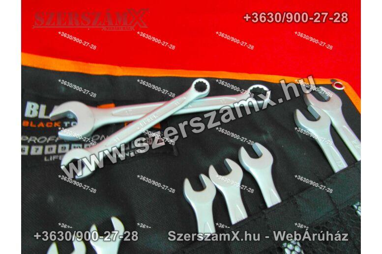Black BL16003 Csillag Villás kulcs készlet 12részes