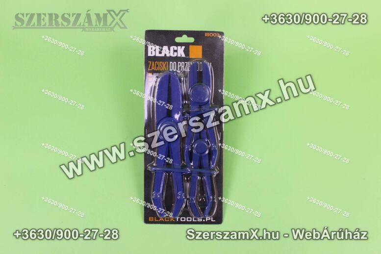 Black BL18003 Tömlőszorító fogó 3részes
