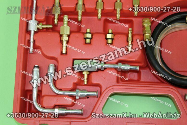 Black BL27501 Benzin Befecskendező Nyomásmérő szett