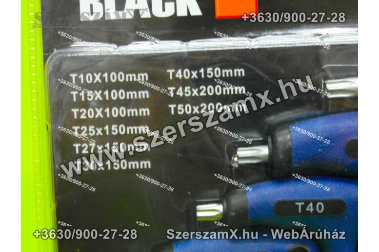 Black BL30110 T-nyelű Torx Kulcs készlet 11db