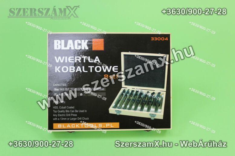 Black BL33004 HSS Kobalt Fémfúrószár szett