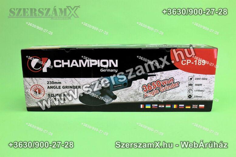 Champion CP-189 Sarokcsiszoló 230mm 2900W