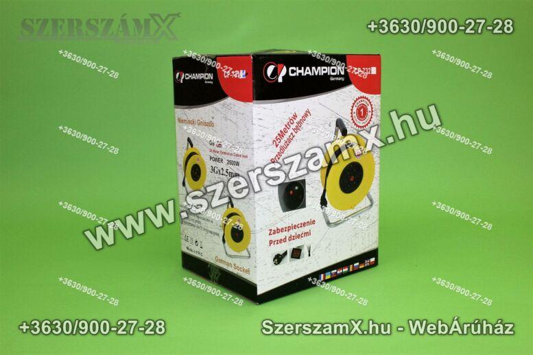 Champion CP-732  Dob Hosszabbító 25méter 3x1,5mm