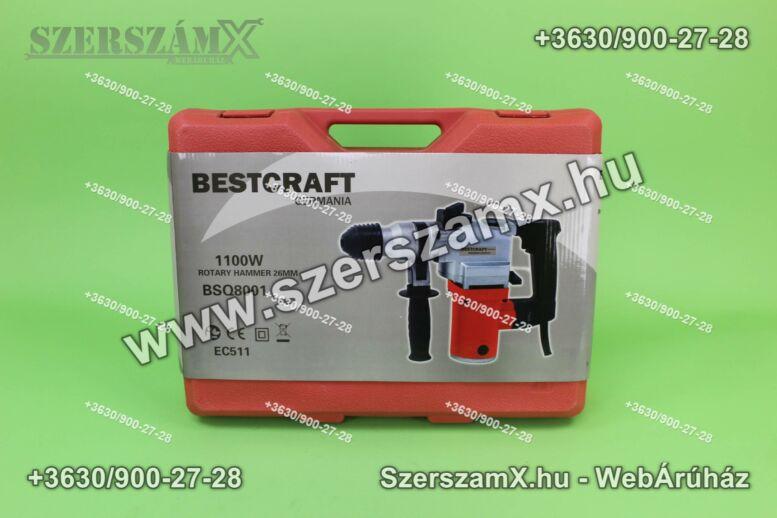BestCraft EC511 Fúrókalapács Fúrógép 1100W