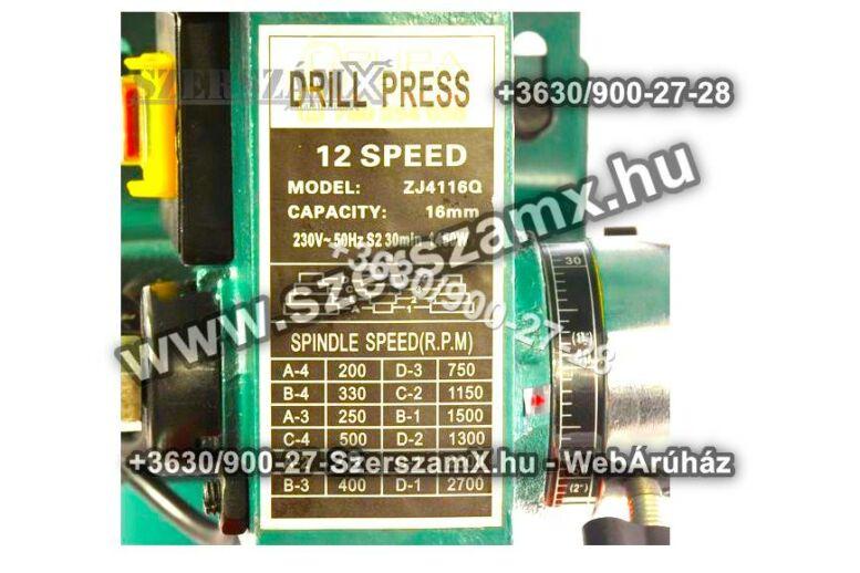 BestCraft EC513 Nagy Oszlopos Fúrógép 1450W + Satu