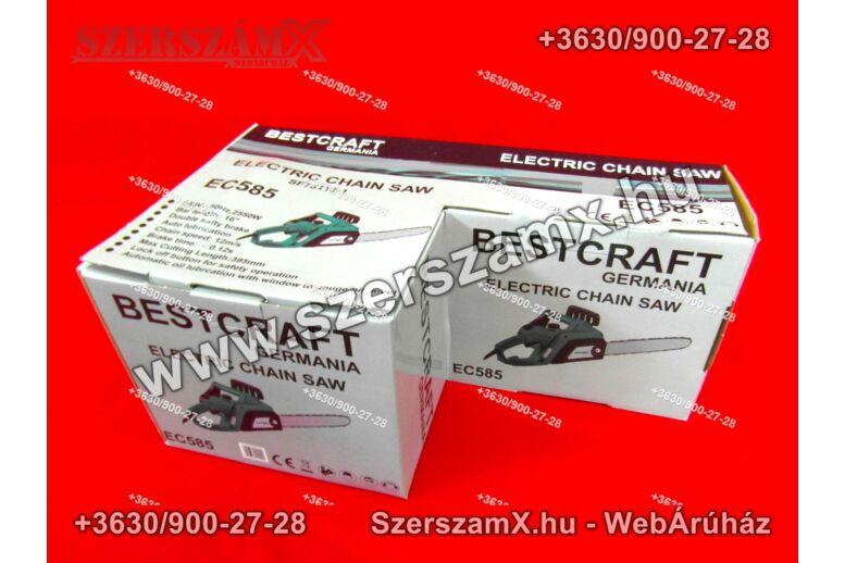 BestCraft EC585 Elektromos Láncfűrész 2550W