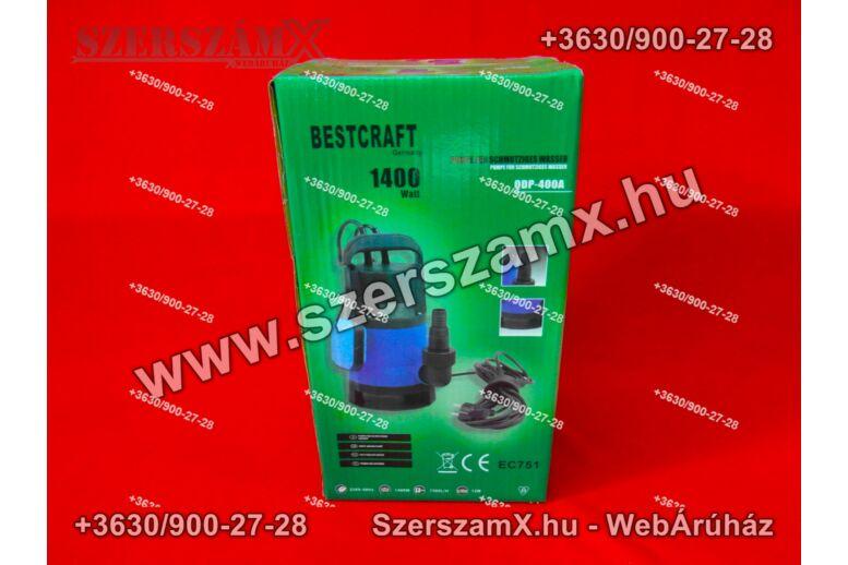 BestCraft EC751 Szennyvíz Szivattyú 1400W