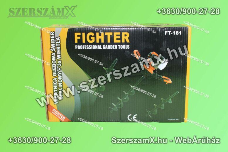 Fighter FG181-10/15/20 Földfúró 5,2Lóerő 52ccm + 100/150/200mm szár