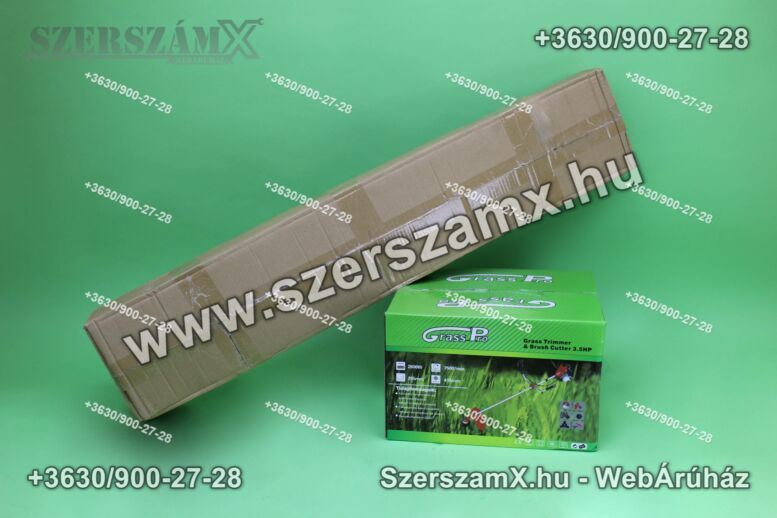 GrassPro GP475 5in1 Fűkasza Sövényvágó Ágvágó Bozótvágó 3,5Lóerő