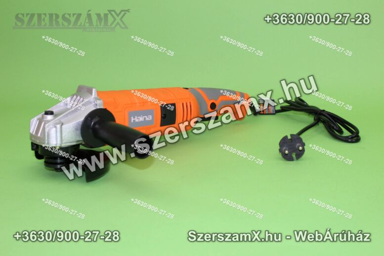 Haina H-2013B Sarokcsiszoló 125mm 1200W Szabályzós