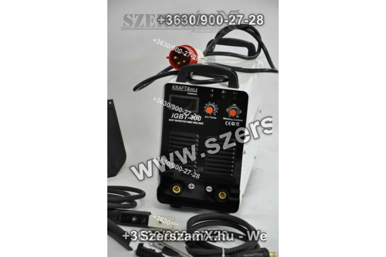 KraftDele IGBT-400 Inverteres Hegesztő 400A -380V-