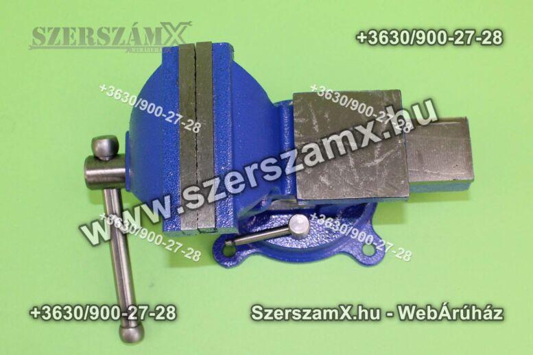 KraftDele KD1101 Asztali Satu 100mm Forgatható