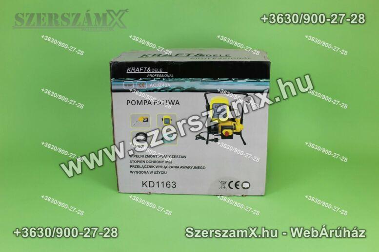 KraftDele KD1163 Üzemanyag és Olaj Szivattyú 600W