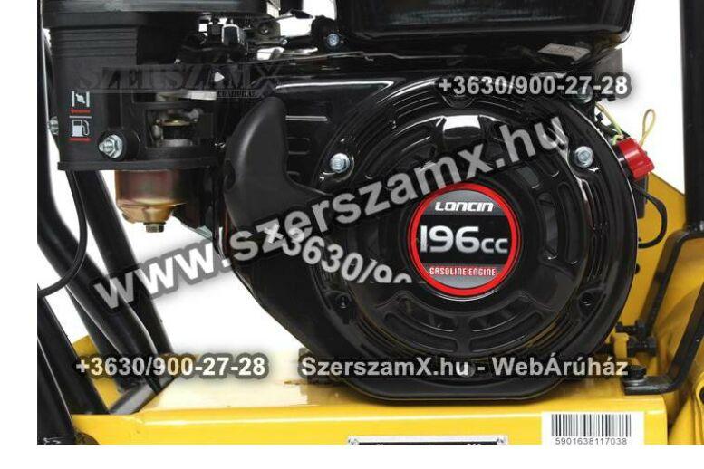 KraftDele KD1180 5,5LE Lapvibrátor 12kN 65kg