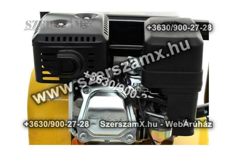 KraftDele KD1184 Benzines 5,5LE Lapvibrátor 16kN Döngölőgép