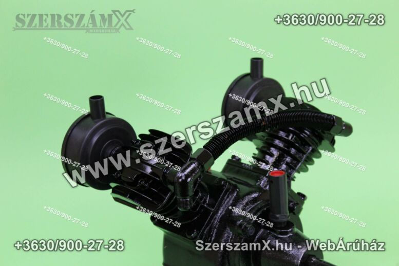 KraftDele KD1401 2-Hengeres Kompresszor 2x55mm
