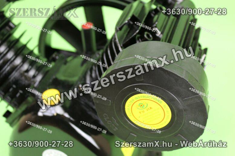 KraftDele KD1404 2-Hengeres Kompresszor 2x90mm