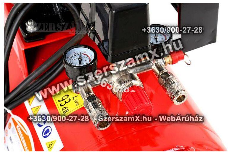 KraftDele KD404 2-Hengeres Kompresszor 100Liter 2800W