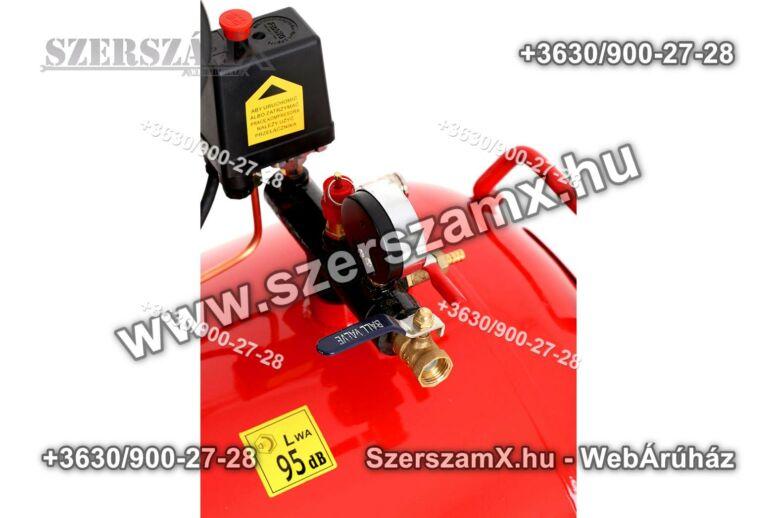 KraftDele KD1410 2-Hengeres Kompresszor 300Liter 5500W