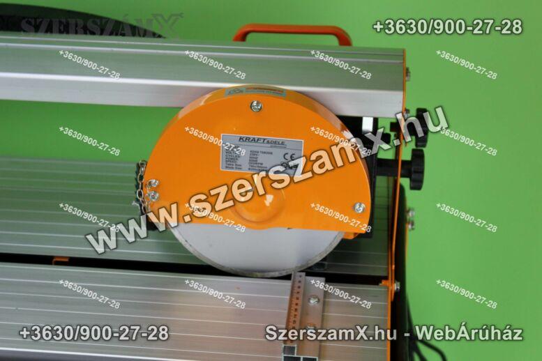 KraftDele KD558  Álványos Vízes Csempevágó 800W 620mm