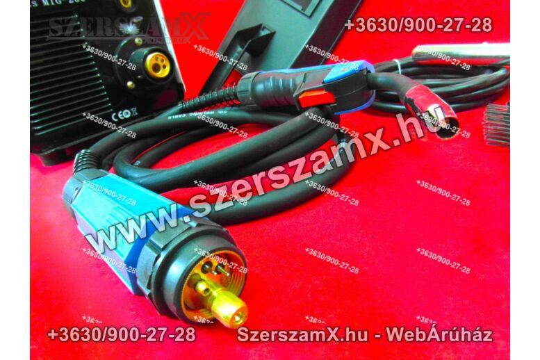 KraftDele KD824 CO2 Hegesztőgép 200A Inverteres