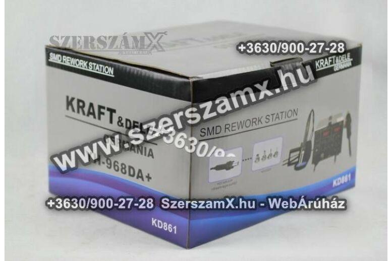 KraftDele KD861 Digitális Forrasztóállómás 2Funkciós