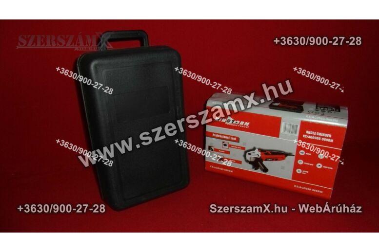 Kinstorm KS/AG 0960-960BM Sarokcsiszoló 125mm 900W