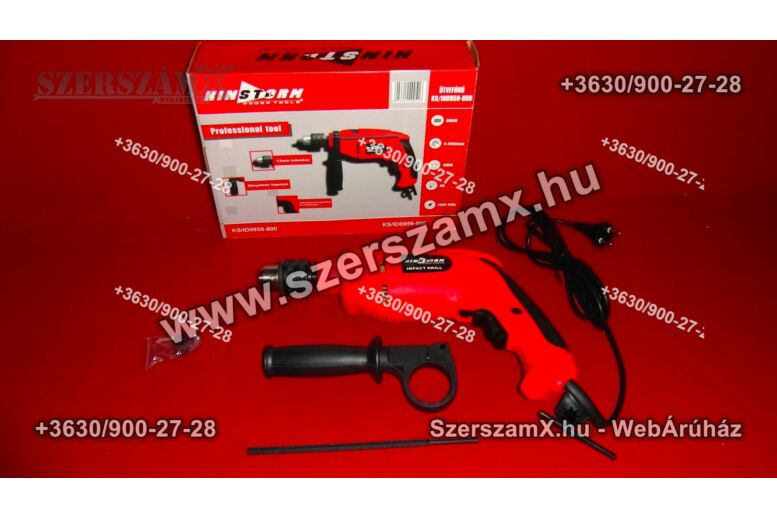Kinstorm KS/ID 0959-800 Ütvefúró 800W