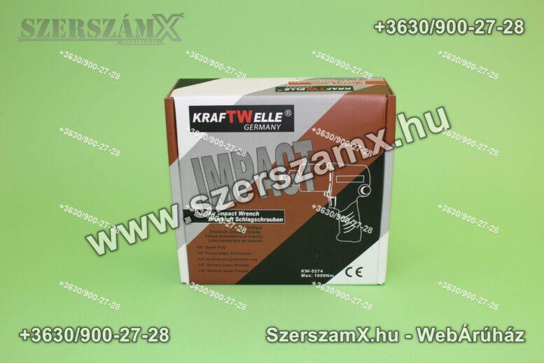 "KraftWelle KW-5274 Légkulcs 1/2"" 1000NM"