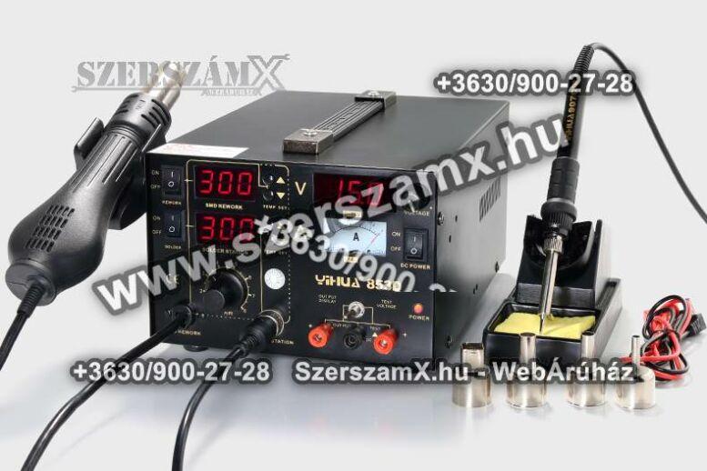 Yihua Digitális SMD Forrasztóállómás 5 funkció 765W YH853D