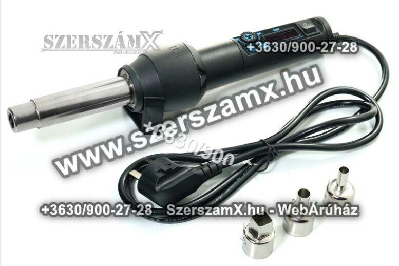 Yihua SMD Kézi Digitális Forrólevegős Forrasztó 650W YH-8858-I Forrasztóállomás