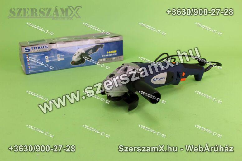 Straus ST/AG125-158 Sarokcsiszoló 125mm 1400W Szabályzós