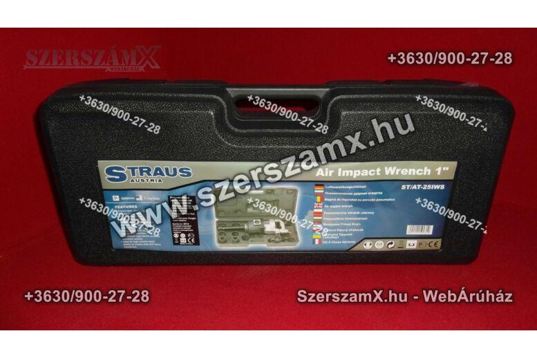 """Straus ST/AT-25IWS Pneumatikus Légkulcs 1"""" 2200NM"""