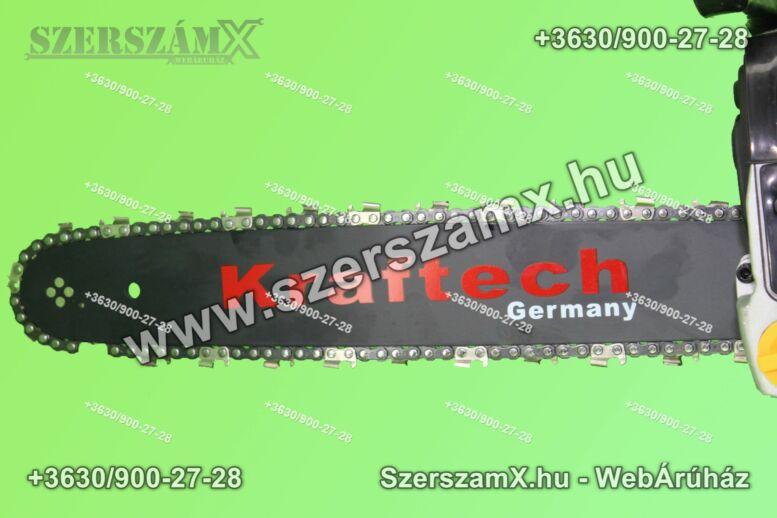 KrafTech KT-498 Benzines Láncfűrész 4,9Lóerő